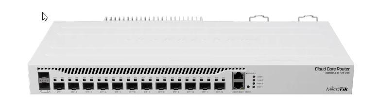 Noul router CCR2004-1G-12S+2X inovație marca MikroTik